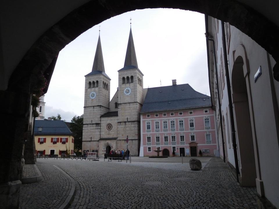 Berchtesgaden - Schloßplatz