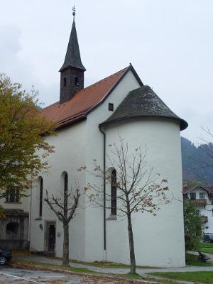 Schlosskapelle von außen