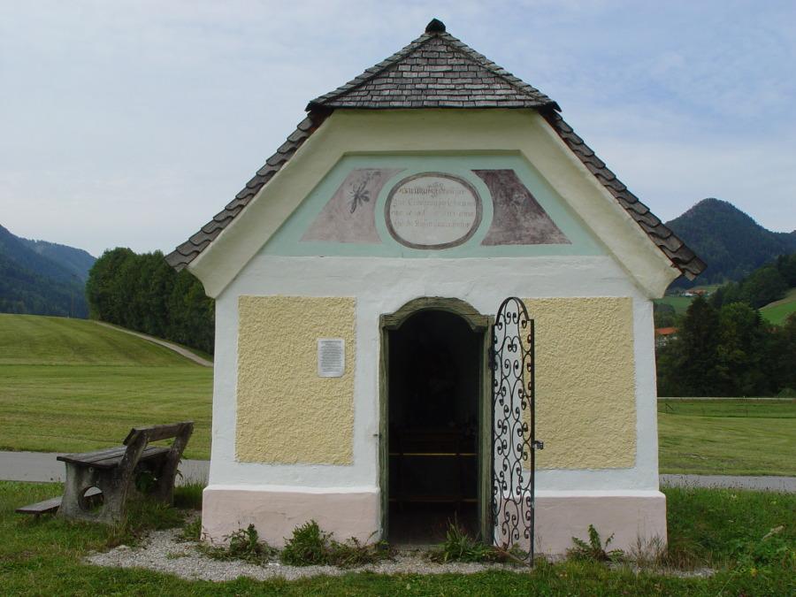 Mühlbauernkapelle von außen