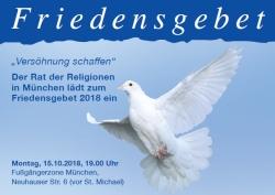 Friedensgebet 2018