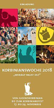 Korbiniansfest 2018