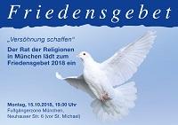 Logo vom Friedensgebet 2018