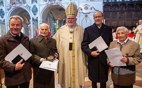 Verleihung Korbiniansmedaillen 2018
