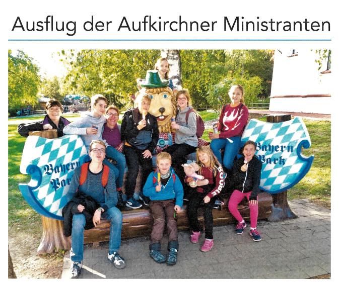 2018-11-09_Pressebericht_Ausflug_Aufkirchner-Minis_Oberdinger_Kurier_05