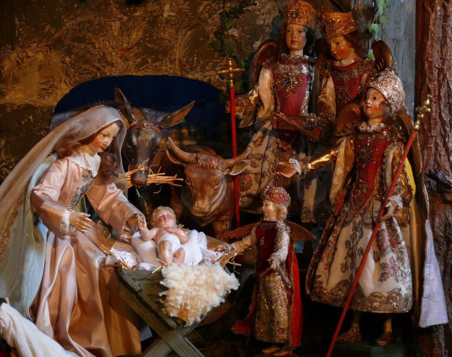 Krippe Mariä Opferung Frauenchiemsee