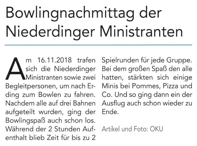 2018-12-07_Pressebericht_Bowlingnachmittag_Ministranten_Niederding_Oberdinger_Kurier_02