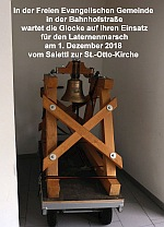 Ökumene-Glocke in der FeG
