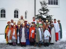 Aussendung der Dreikönigs-Sänger von St.Otto