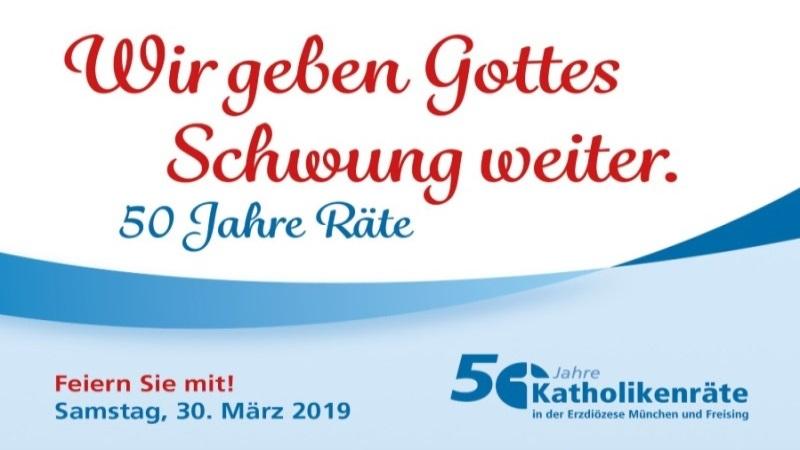 Einladung zum Fest der Räte<br/>Samstag, 30. März 2019