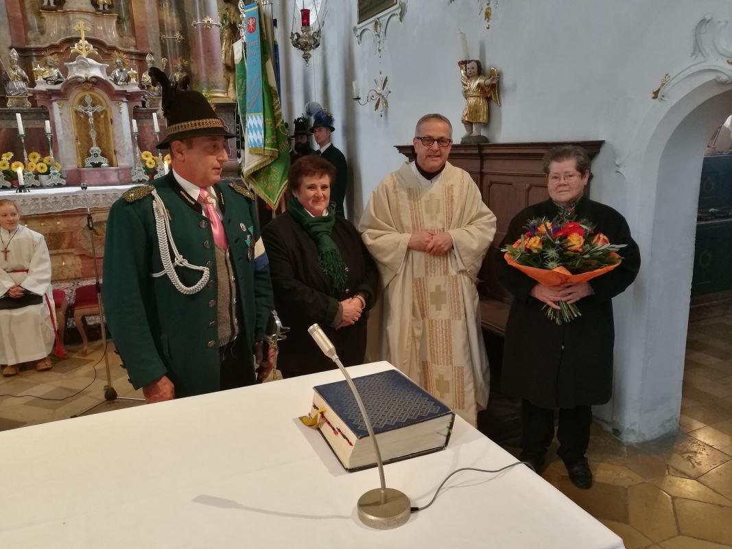 Verabschiedung Mesnerin Marianne Sterzik