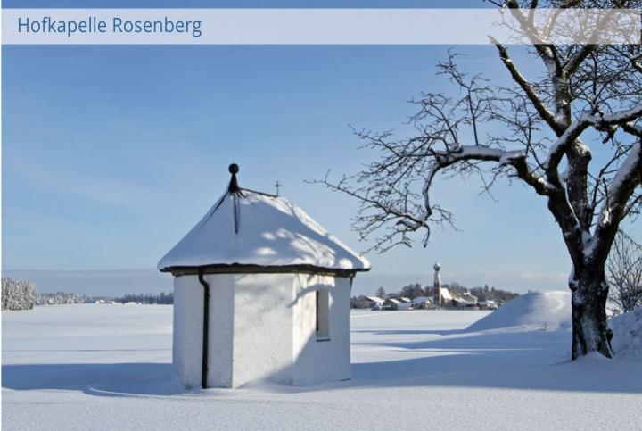 Kapelle Rosenberg Winter