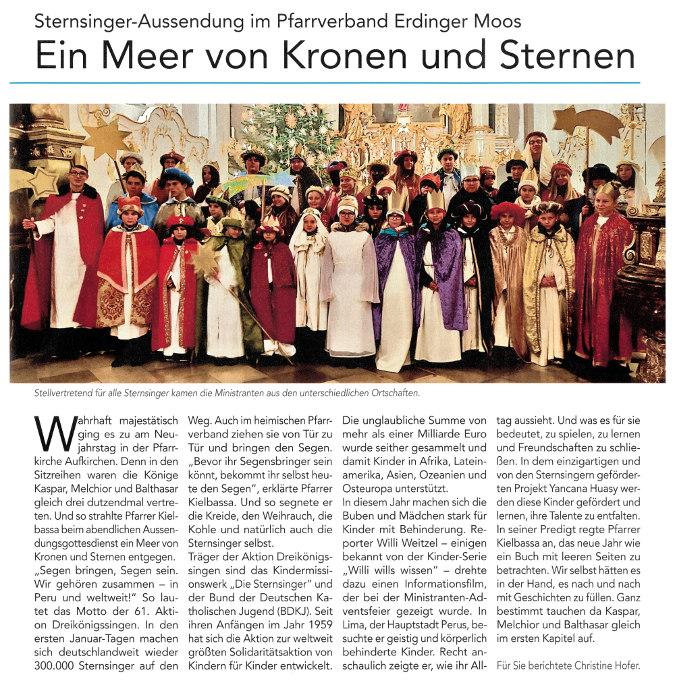 2019-01-11_Pressebericht_Aussendung_Sternsinger_PV_Oberdinger_Kurier_03