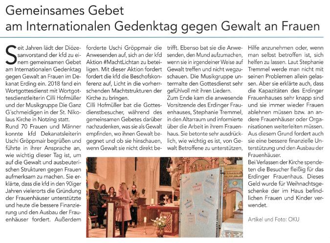 2019-01-11_Pressebericht_Gedenktag_gegen_Gewalt_an_Frauen_kfd_PV_Oberdinger_Kurier_03