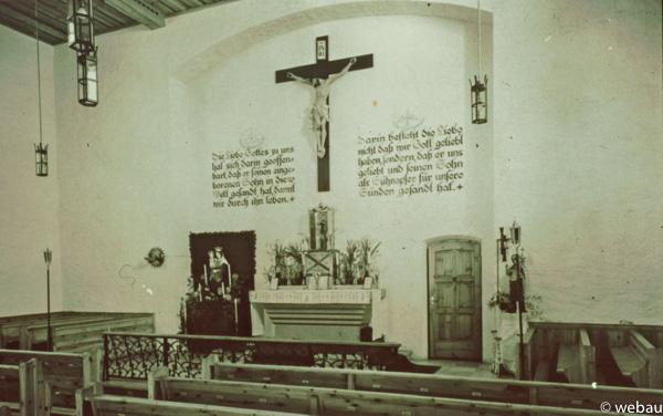 Innenraum 1950