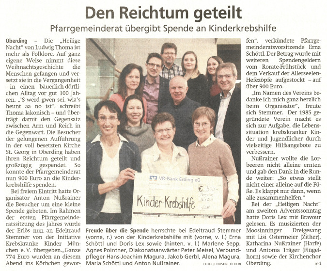 2019-01-26_Pressebericht_Spende_PGR_Lesung_Heilige_Nacht_Oberding_Erdinger_Anzeiger_03