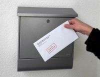 Briefkasten Caritas
