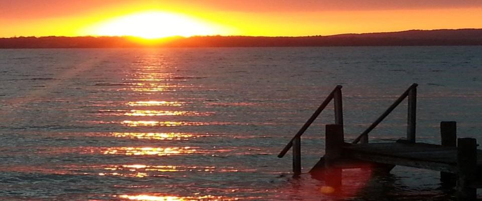 Sprititualität Sonnenuntergang