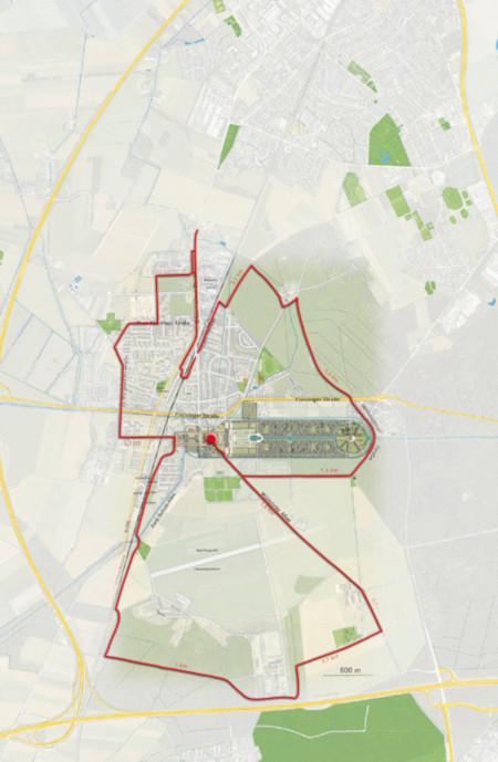 Karte Pilgerweg