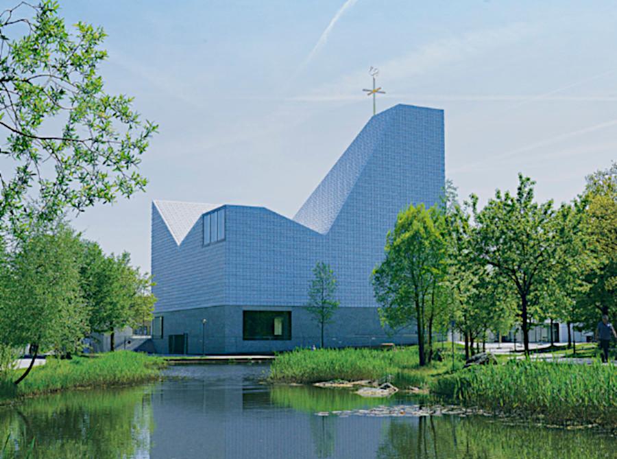 Kirche Poing von außen