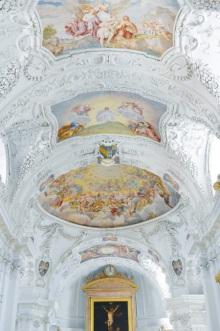 Deckenfresco in Klosterkirche Tegernsee