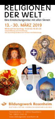"""Ausstellung """"Religionen der Welt"""""""