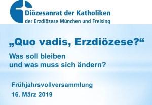 Frühjahrsvollversammlung 2019