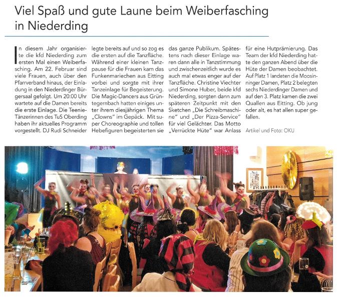 2019-03-08_Pressebericht_Weiberfasching_kfd_Niederding_Oberdinger_Kurier_03