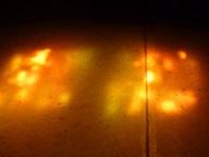 Lichtspiel am Kirchenboden