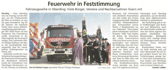 2019-04-02_Pressebericht_Fahrzeugsegnung_Feuerwehr_Oberding_Erdinger_Anzeiger_03