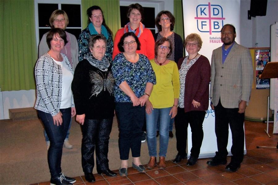 Vorstandschaft des KDFB Haag