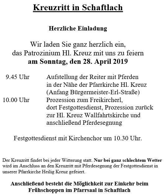 Kreuzritt2019-Plakat