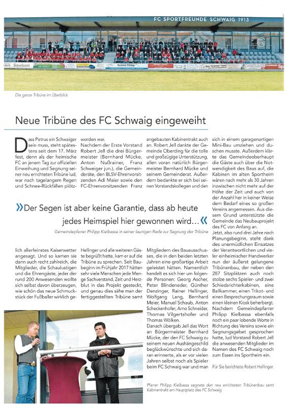 2019-04-05_Pressebericht_Segnung_Tribuehne_FC_Schwaig_Oberdinger_Kurier_03