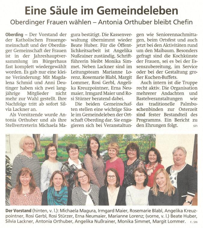 2019-04-17_Pressebericht_Neuwahlen_kfd_OGdF_Oberding_Erdinger_Anzeiger_03