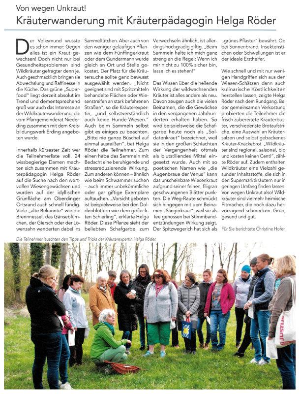 2019-05-03_Pressebericht_Kraeuterwanderung_PGR_Niederding_Oberdinger_Kurier_03