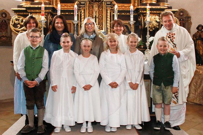 Erstkommunionkinder Oberfeldkirchen