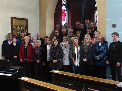 Chortreffen 2019 - Schlussapplaus in der Elisabeth-Kirche Eisenach