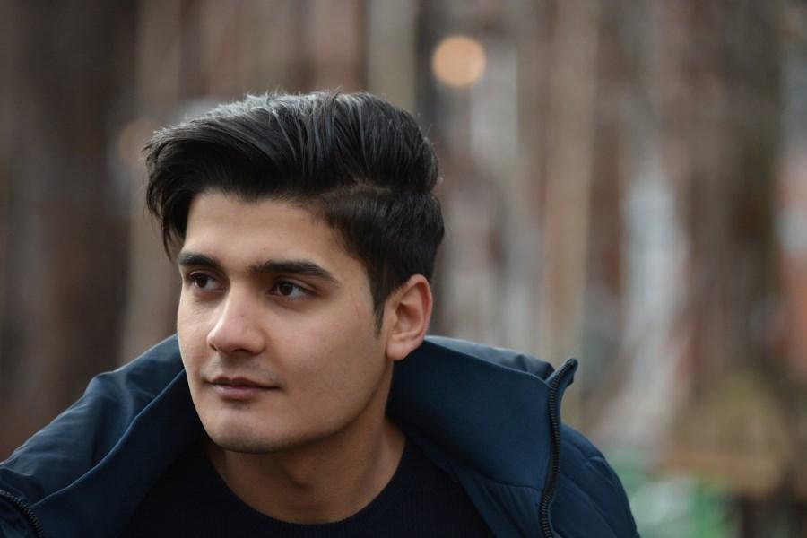 portrait junger flüchtling