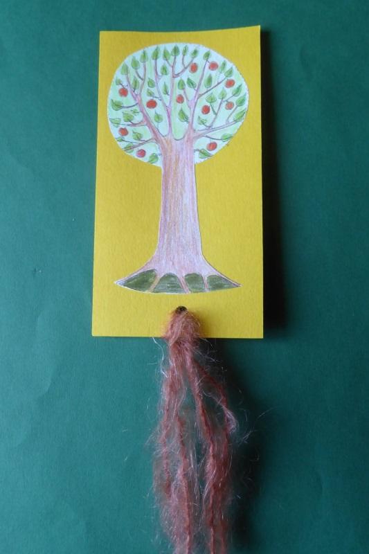 Baum als Lesezeichen