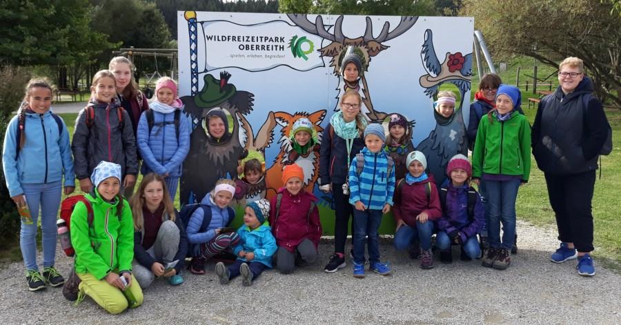 Kinderchor Gruppenfoto