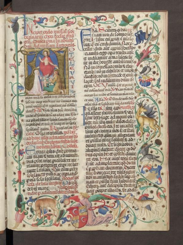 Missale Münchner Frauenkirche 1480_Titel