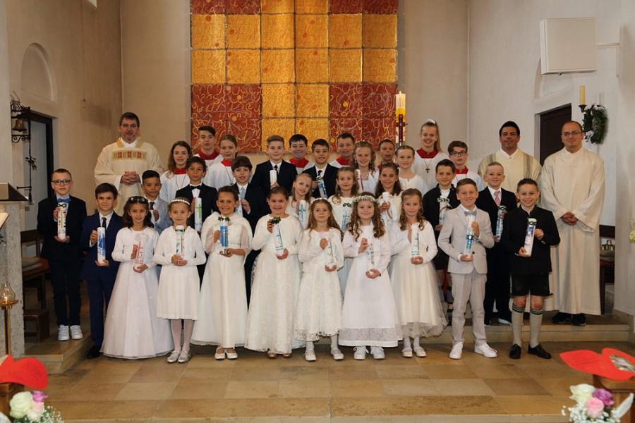 Erstkommunion Aschheim Gruppe 2
