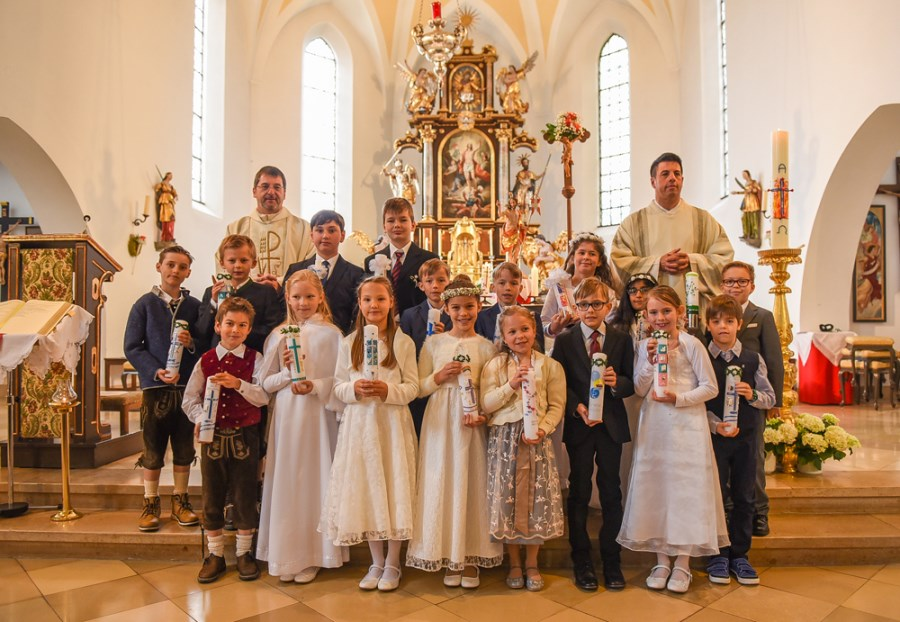 Erstkommunion 2019 Feldkirchen Gruppe 1