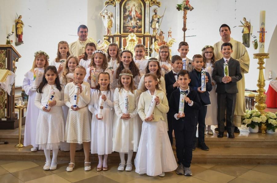 Erstkommunion 2019 Feldkirchen Gruppe 2