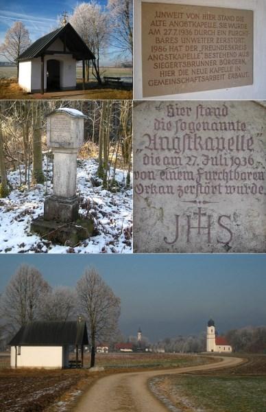 Angstkapelle; verschiedene Ansichten