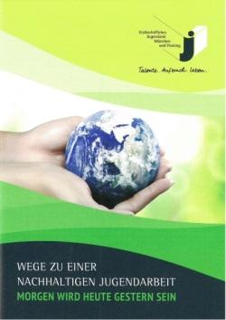 Titelbild Nachhaltigkeitsbroschüre Jugendarbeit 2019