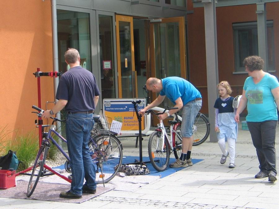 Fahrradreperatur St. Emmeram München