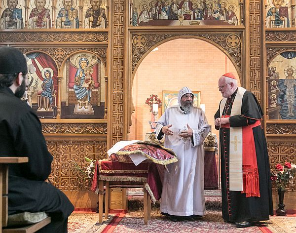 Koptisch-orthodoxe Feier zur Eröffnung des neuen Gemeindezentrums