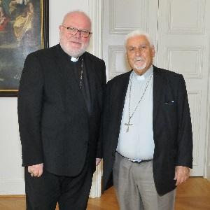 Kardinal Marx und Erzbischof Moshe