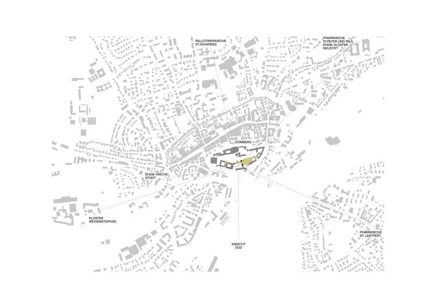 Volumenstudie Kardinal-Döpfner-Haus Lageplan