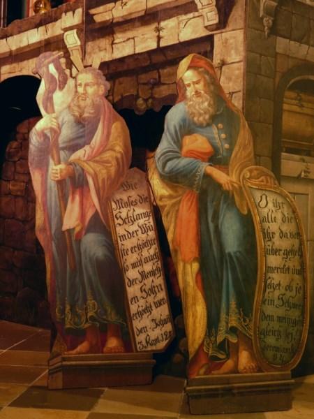 Hl Grab Mose und Jeremias